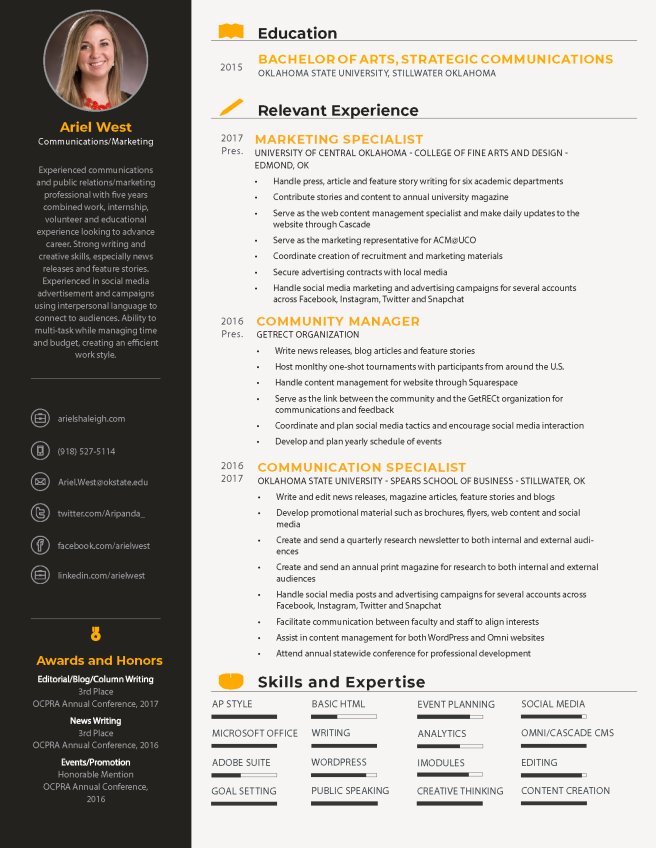 ArielWest_Resume